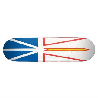 Neufundland- und Labrador-Flaggen-Skateboard Skateboard Brett