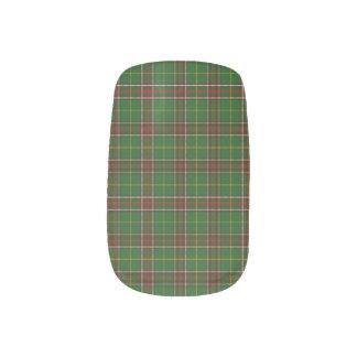 Neufundlandtartan-Nagel-Verpackungs- u. Minx Nagelkunst