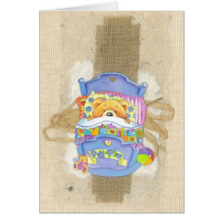 Neugeborene Baby Gratulations Grußkarte