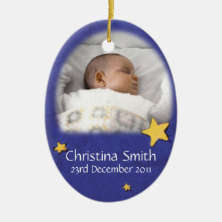 Neugeborene Engels-Weihnachtsverzierung besitzen Keramik Ornament