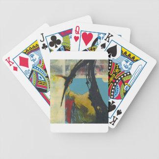 Neugier der abstrakte Drache Bicycle Spielkarten