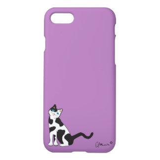 """Neugierige Katze "" iPhone 8/7 Hülle"