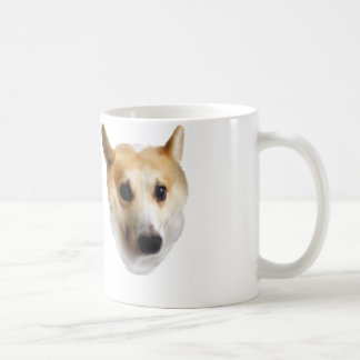 Neugieriger Corgi Kaffeetasse