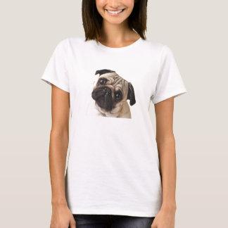 Neugieriger Mops-T - Shirt