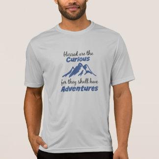 Neugieriges Abenteuer lustig T-Shirt