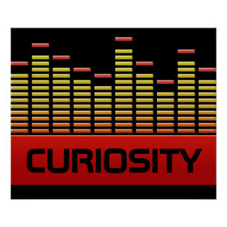 Neugierniveaus Poster