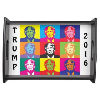 Neuheits-Donald- TrumpServiertablett Tablett