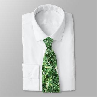 Neuheits-Entwurfs-Sommer-Gras Bedruckte Krawatte