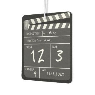 Neuheits-personalisierter einzigartiger Film Autolufterfrischer