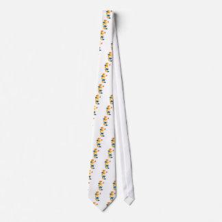 Neujahrsfest-Drache-Illustration Personalisierte Krawatten