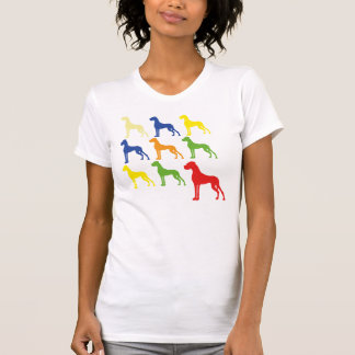 Neun Deutsche Doggen T-Shirt