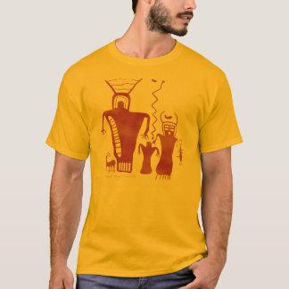 Neun Meilen-Schlucht-Felsen-Kunst-'Außerirdischen T-Shirt