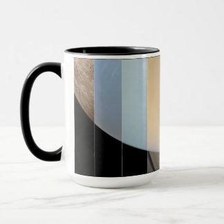 Neun Planeten-Tasse Tasse