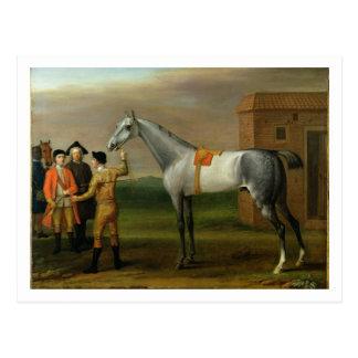 Neunauge, mit seinem Inhaber, Sir William Morgan, Postkarte