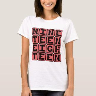 Neunzehn achtzehn, Jahr 1918 T-Shirt