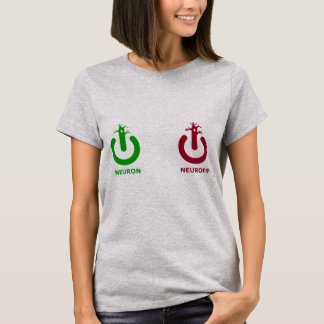 Neuron Neuroff Damen-Spitze T-Shirt
