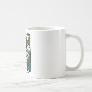 Neurotischer Schneemann Kaffeetasse