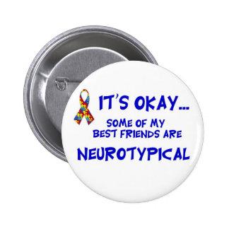 Neurotypical Freunde Buttons