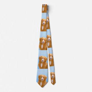 Neuschottland-Enten-läutender Retriever Krawatte