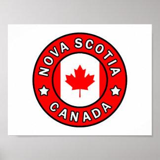 Neuschottland Kanada Poster