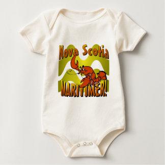 Neuschottland Maritimer Baby Strampler