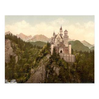 Neuschwanstein-Schloss, Bayern, Deutschland Postkarte