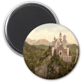 Neuschwanstein-Schloss, Bayern, Deutschland Runder Magnet 5,7 Cm