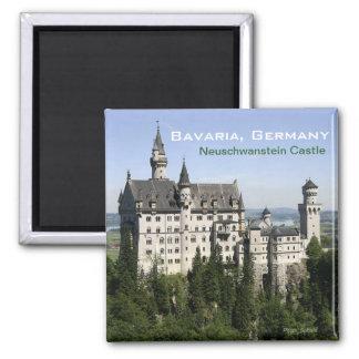 Neuschwanstein-Schloss-Bayern-Reise-Kühlschrankmag Magnets