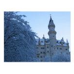 Neuschwanstein-Schloss, Deutschland Postkarte