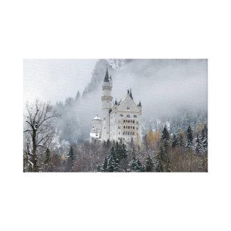 Neuschwanstein-Schloss im Bayern, Deutschland Leinwanddruck