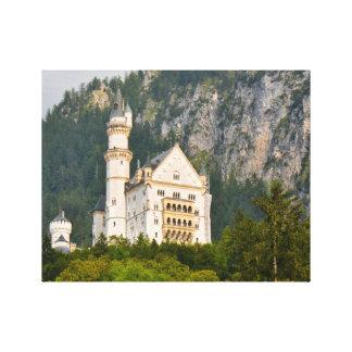 Neuschwanstein-Schloss im Bayern Deutschland Leinwanddruck