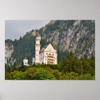 Neuschwanstein-Schloss im Bayern Deutschland Poster