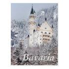 Neuschwanstein-Schloss Postkarte