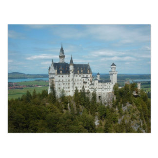 Neuschwanstein-Schloss - Schloss Neuschwanstein Postkarte