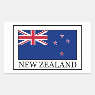 Neuseeland-Aufkleber Rechteckiger Aufkleber