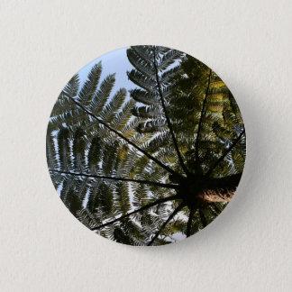 Neuseeland-Baum-Farn Runder Button 5,7 Cm