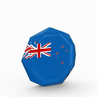 Neuseeland-Flagge Acryl Auszeichnung