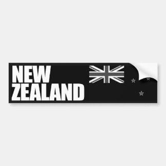 Neuseeland-Flagge Autoaufkleber