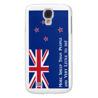 Neuseeland-Flagge Galaxy S4 Hülle