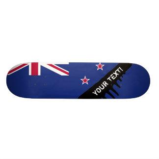 Neuseeland-Flagge Individuelle Decks