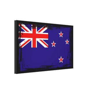 Neuseeland-Flagge Leinwanddruck