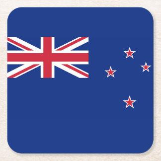 Neuseeland-Flagge Rechteckiger Pappuntersetzer