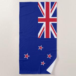 Neuseeland-Flagge Strandtuch