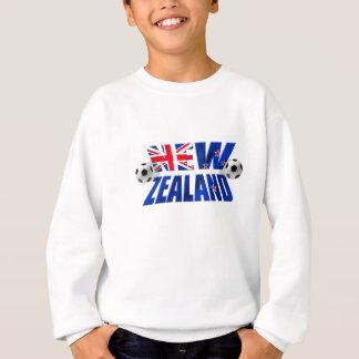 Neuseeland-Fußballlogo NZ Fußballflagge 2010 Sweatshirt