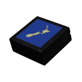 Neuseeland-Karten-Geschenkboxen Geschenkbox