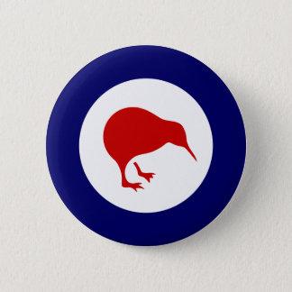 Neuseeland-Kiwi roundel Militärluftfahrt-Abzeichen Runder Button 5,1 Cm