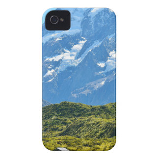 Neuseeland-Landschaftsberg iPhone 4 Etuis