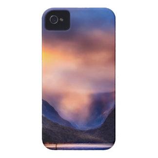 Neuseeland-Landschaftsberg iPhone 4 Hülle