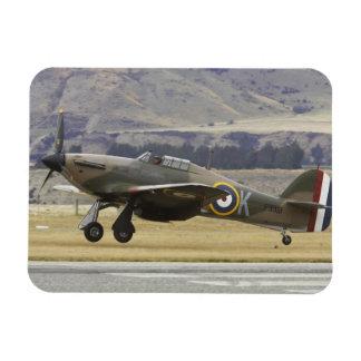 Neuseeland, Otago, Wanaka, Warbirds über 6 Rechteckiger Fotomagnet