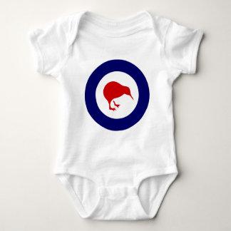 Neuseeland roundel Kiwi Baby Strampler